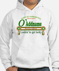 Honorary Irishman Lookin Lucky Hoodie
