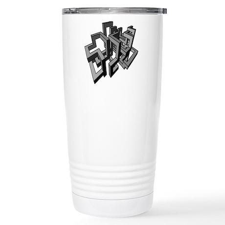Geometric Design Travel Mug By Coolgiftsandgreatmerch