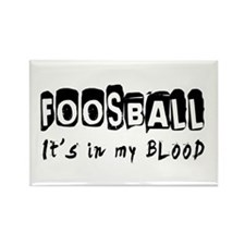 Foosball Designs Rectangle Magnet