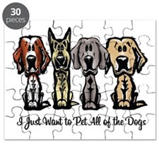 I Just Want to Pet All of the Dogs Puzzle