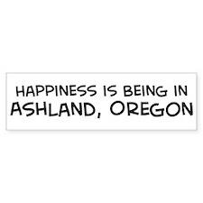 Ashland - Happiness Bumper Bumper Sticker