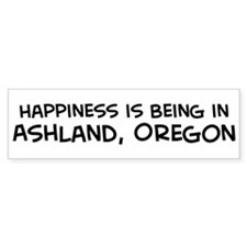 Ashland - Happiness Bumper Bumper Sticker