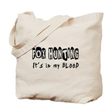 Fox Hunting Designs Tote Bag