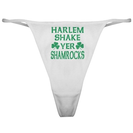 Harlem Shake Yer Shamrocks Distressed Classic Thon