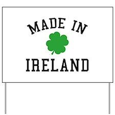 Made In Ireland Yard Sign