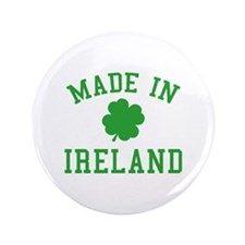 "Made In Ireland 3.5"" Button (100 pack)"