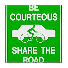 Share the Road Tile Coaster