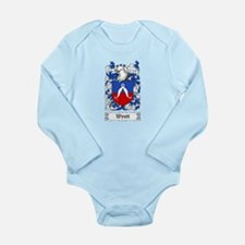 Wyatt Long Sleeve Infant Bodysuit