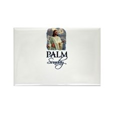 Palm Sunday Jesus Rectangle Magnet