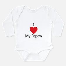 I love my Papaw Body Suit