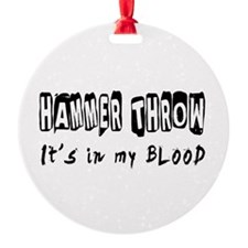 Hammer throw Designs Ornament