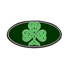 Celtic Shamrock Patches