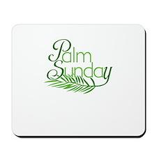 Palm Sunday Jesus Mousepad