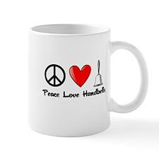 Peace, Love, Handbells Mug