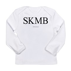 SKMB White Long Sleeve T-Shirt