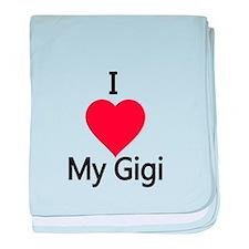 I love my Gigi baby blanket