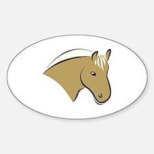 Horse Head Decal
