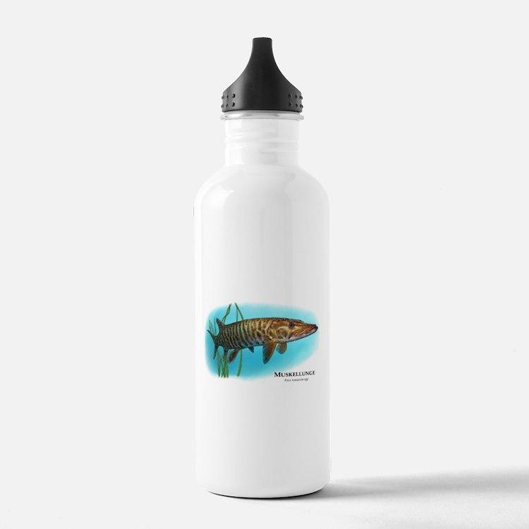 Muskellunge Water Bottle