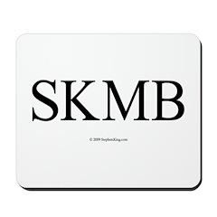 SKMB White Mousepad
