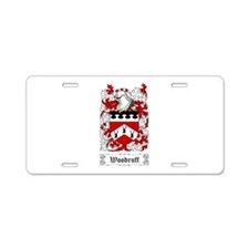 Woodruff Aluminum License Plate