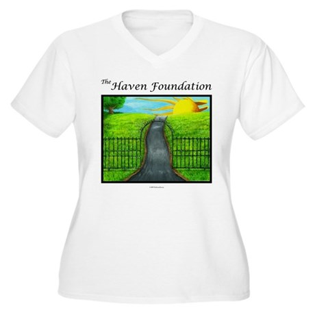 Revised White Haven Plus Size T-Shirt