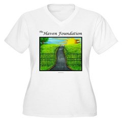 Revised White Haven Plus Size T-Shirt