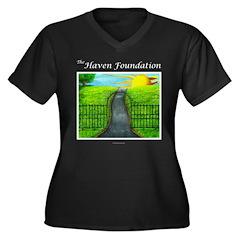 Revised Black Haven Plus Size T-Shirt