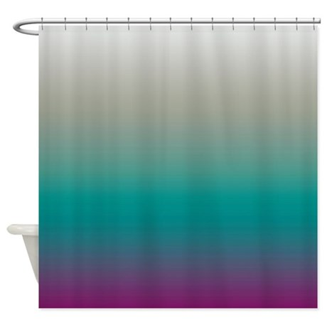 Aloha Plum Shower Curtain