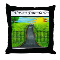 Revised White Haven Throw Pillow