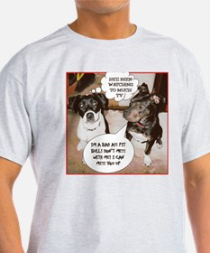 Copy of Bad Ass Pit bull.gif T-Shirt