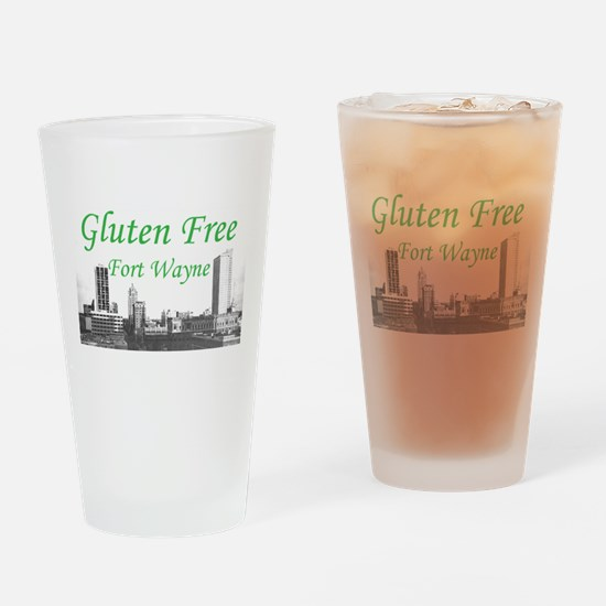 Gluten Free Fort Wayne Drinking Glass