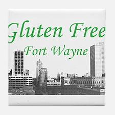 Gluten Free Fort Wayne Tile Coaster