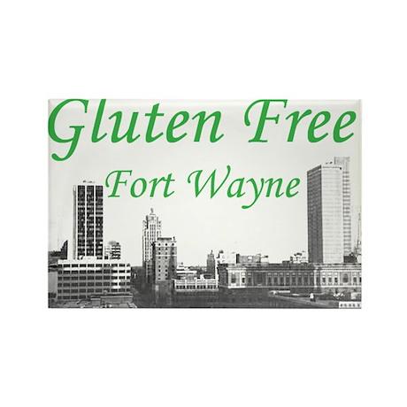 Gluten Free Fort Wayne Rectangle Magnet
