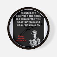 Search Mens Governing Principles - Marcus Aurelius