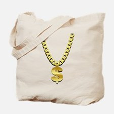 Gold Chain Tote Bag