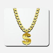 Gold Chain Mousepad