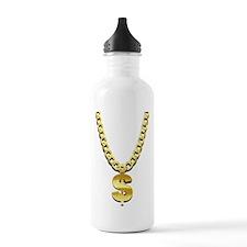 Gold Chain Water Bottle