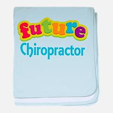 Future Chiropractor baby blanket