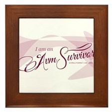 I am an AVM Survivor Framed Tile