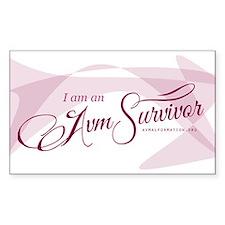 I am an AVM Survivor Decal