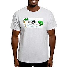 Veggie Mommy Ash Grey T-Shirt