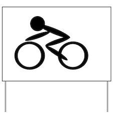 Cycling Yard Sign