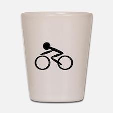 Cycling Shot Glass