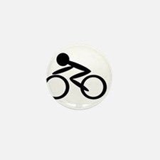 Cycling Mini Button (10 pack)