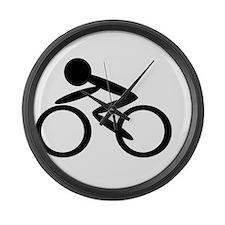 Cycling Large Wall Clock