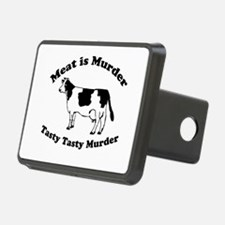 Meat is Murder Tasty Tasty Murder Hitch Cover