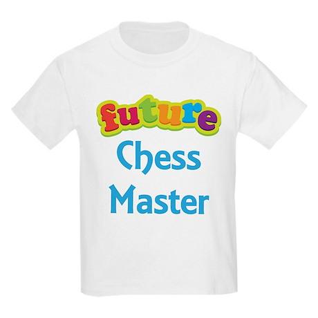 Future Chess Master Kids Light T-Shirt