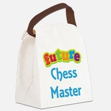 Future Chess Master Canvas Lunch Bag