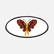 MS Awareness Butterfly Ribbon Patches
