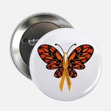 """MS Awareness Butterfly Ribbon 2.25"""" Button (10 pac"""